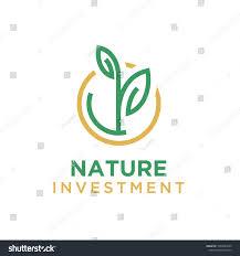 Growth Logo Design Investment Growth Logo Design Inspiration Plant Stock Vector