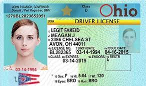 Id Cards Legitfakeid Scannable Fake Ohio Ids