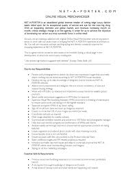 Merchandiser Job Description For Resume