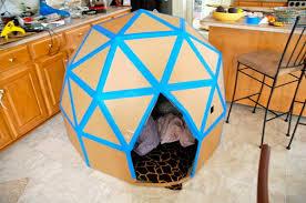Diy cat playhouse Cardboard Cat Science And Engineering Hative 30 Creative Diy Cardboard Playhouse Ideas Hative
