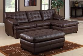 small leather sectional sofa with ideas image   kengirecom