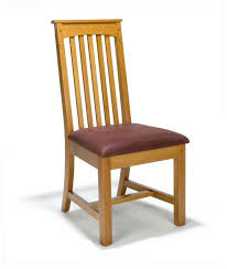 new arts crafts movement illinois mission style wooden dining side chair