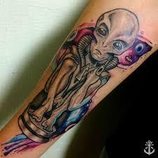 Alien Galaxy Tattoo Alien Tattoo Galaxy Tattoo Universe Tattoo