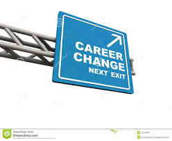 time for a new career clock change jobs work follow dreams stock career change stock image