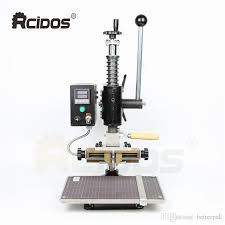 2019 tf1503 rcidos stamping machine leather bronzing creasing machine hot foil stamping machine leather embossor from betterpak 522 62 dhgate com