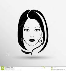 Woman Face Fashion Girl Beauty Illustration Vector Stock Vector