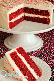 Decorating With Sprinkles Red Velvet Cake Recipe With Cream Cheese Frosting