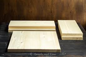 Make wood box Keepsake Wooden Box Centerpiece Pine Pieces Houzz Wooden Box Centerpiece You Can Easily Put Together In No Time