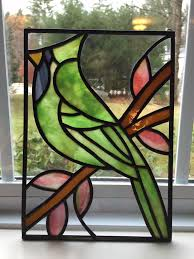 diy stained glass 1322 best stained glass birds images on
