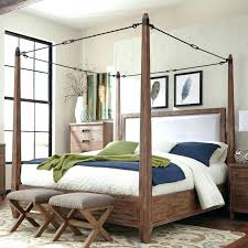 wood canopy bed frame – phonepe.me