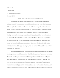 history of the world in glasses essay documents