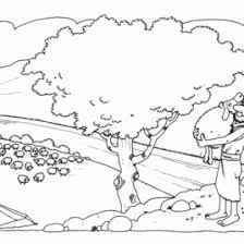 Small Picture Bible Coloring Pages Lost Sheep Archives Mente Beta Most