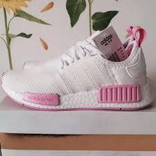 adidas shoes nmd womens. new women\u0027s adidas originals nmd r1 w color sun glow salmon shoes nmd womens g