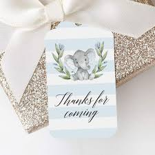 Attach some cute tags to goodie bags for the. Printable Favor Tags Thank You Tags Diy Tags Instant Download Littlesizzle