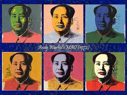 andy warhol s 1972 mao silkscreens were banned from mainland china s exhibition