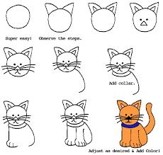 cat drawing step by step. Delighful Cat Draw  Simple Craft Ideas Cartoons Cartoon Clip Art  Animation Comics At CartoonFactorycom Web And Pubishing Cartoons And Cat Drawing Step By A