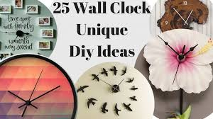 25 wall clock diy ideas unique home interior design