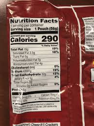 this cheez it nutrition label made me think of ios14 ios