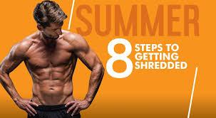 get shredded this summer
