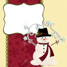 cute christmas postcard template royalty cliparts vectors cute christmas postcard template stock vector 16211453
