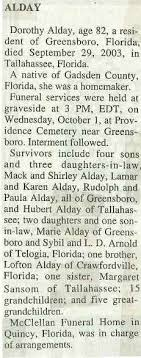 Gadsden County, Florida, Genealogy Resources