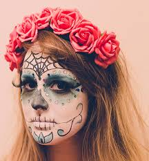 beauty diy how to do day of the dead dia de los muertos makeup plus our first ever you video