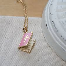 beautiful lord s prayer pendant 14k yellow gold chain included best er loading zoom