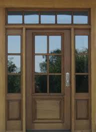 6 panel exterior door with glass front doors decorative glass wood entry door wish and pertaining 6 panel exterior door with glass