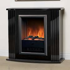 dimplex mozart gloss black optiflame electric fireplace suite