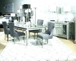 grey dining room table sets silver dining room sets silver dining table chairs room set round