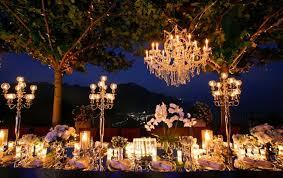 outdoor wedding reception lighting ideas. Outside Wedding Lighting Ideas. Gorgeous-wedding-lighting-ideas -chandeliers-candles Outdoor Reception Ideas H