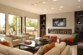 modern living room with fireplace. Modern Living Room With Fireplace N