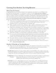 Sample Resume For Substitute Teacher Student Teaching Resume Examples Enderrealtyparkco 23