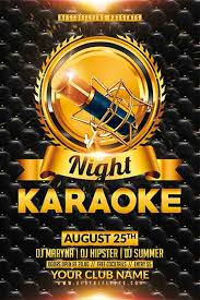 talent show flyer template free freepsdflyer download free karaoke flyer psd templates for photoshop