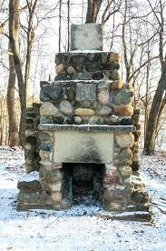 stone outdoor fireplace stone outdoor fireplaces fire pits stone chimneys