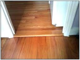 tile floor transition to wood hardwood height difference carpet stairs