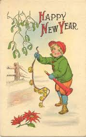 happy new years postcard 165 best a vintage happy new year images on pinterest vintage