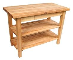 kitchen work table with shelves butcher block work table w butcher block kitchen work table