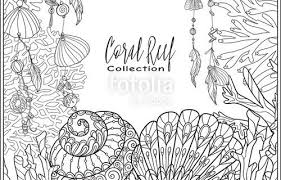 Coral Reef Coloring Pages Free Unique Coral Reef Collection Anti
