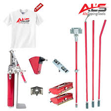 level5 finishing set of automatic drywall taping tools w 3 angle head