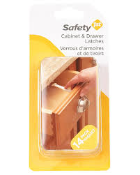 Safety 1st Cabinet Lock Amazoncom Safety 1st 14 Pack Wide Grip Latches Childrens Home