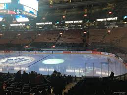 Scotiabank Maple Leafs Seating Chart Scotiabank Arena Section 106 Toronto Maple Leafs