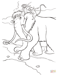 Small Picture Ice Age coloring pages Free Coloring Pages