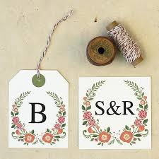 Free Printable Wedding Gift Tags – Template Gbooks
