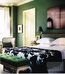 black and white and green bedroom. That 70s Show Of Hunter Green \u0026 Brass: It\u0027s Back! Black And White Bedroom