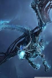 world of warcraft ice dragon hd desktop wallpaper widescreen
