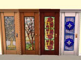 stained glass door designs marvelous on furniture intended wood with design interior home decor 12