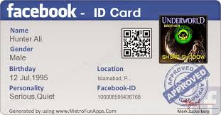 Your Id Dragon - Card Create Facebook Pak Verify
