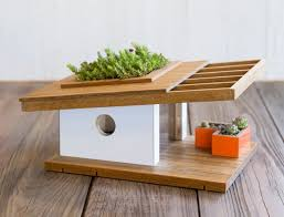 historic modern wood furniture. Sourgrassbuilt Builds Birdhouses Inspired By Historic Architecture Modern Wood Furniture O