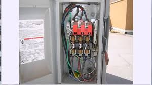 3 phase disconnect youtube Transformer Disconnect Wiring Diagram Transformer Disconnect Wiring Diagram #27 60 Amp Disconnect Wiring Diagram